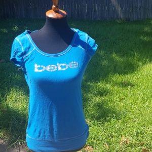Pre-Loved BeBe logo Tshirt